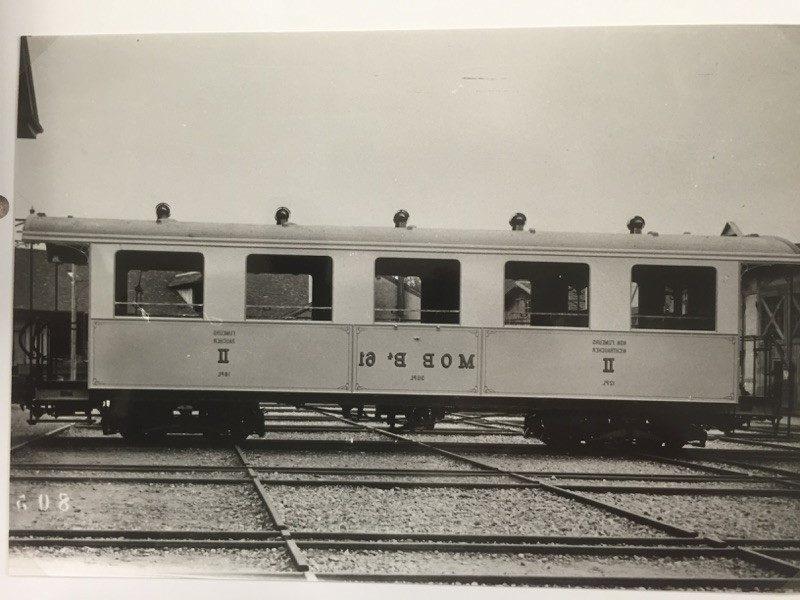 Voiture de 1906 « MOB 61 »